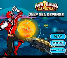 Power Rangers Deap Sea Defense