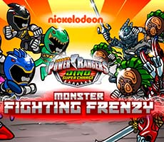 Power Rangers Monster Fighting