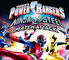 Power Rangers: Ninja Steel Match Attack