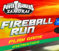 Power Rangers Samurai: Fireball Run
