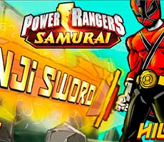 Power Rangers Samurai: Kanji Sword
