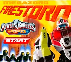 Power Rangers Spd: Megazord Firestorm