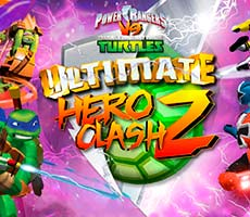 Teenage Mutant Ninja Turtles Vs Power Rangers (Ultimate Hero Clash 2)
