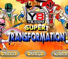 Power Rangers Transformation free game