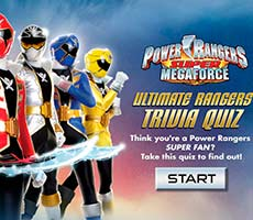 Power Rangers Ultimate Trivia Quiz free game