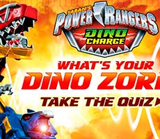 Power Rangers - What's Your Dino Zord free game