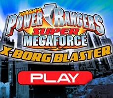 X-Borg Blaster Power Rangers Super Megaforce free game